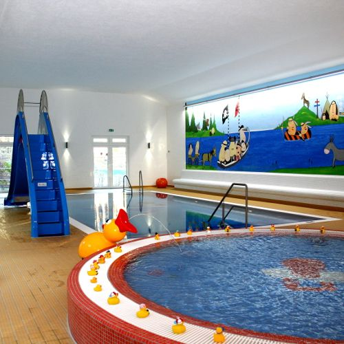 Familotel Borchard's Rookhus, Kinderbecken, Familienhotel mit Schwimmbad