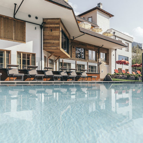 Familienhotel Engel gourmet & spa, Outdoorpool