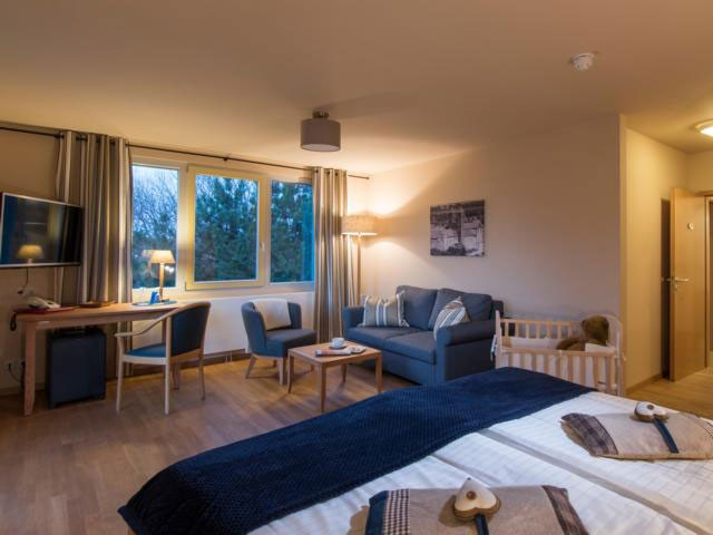 Familienhotel_Family_Club_Harz_Familienappartement_2_Raum_50qm_Schlafzimmer
