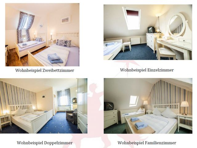 Familienhotel Frieslandstern, Single mit Kind 12qm