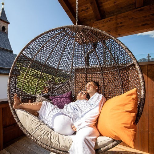 Familienhotel Galtenberg Family Wellness Resort, Hängeschaukel, Wellnesshotel Tirol