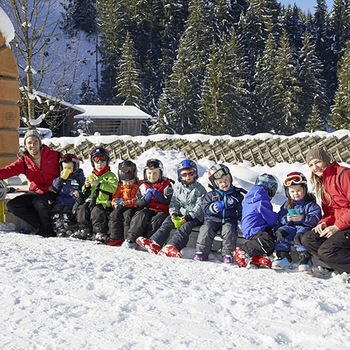 Familienhotel Habachklause, Kinder im Winter
