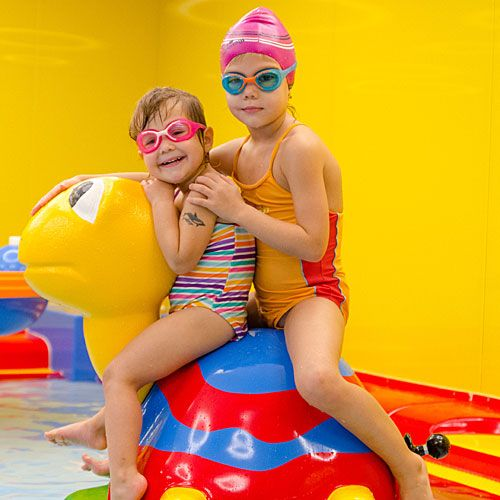 Familotel Kolping Hotel Spa & Family Resort, Kinder im Kinderbecken, Kinderhotel
