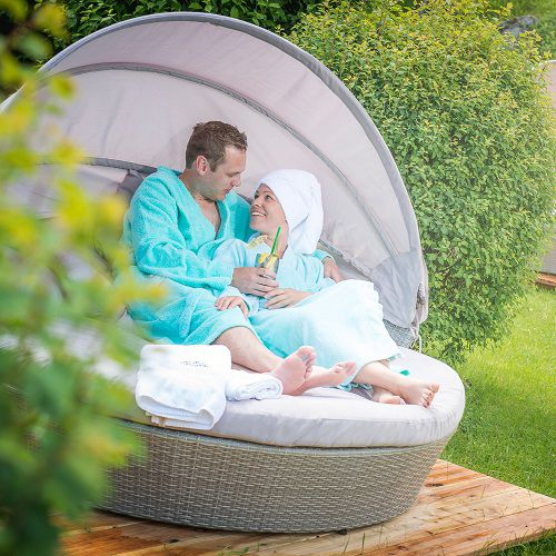 Familotel Landgut Furtherwirt, Eltern beim Wellness, Familienhotel mit Wellness