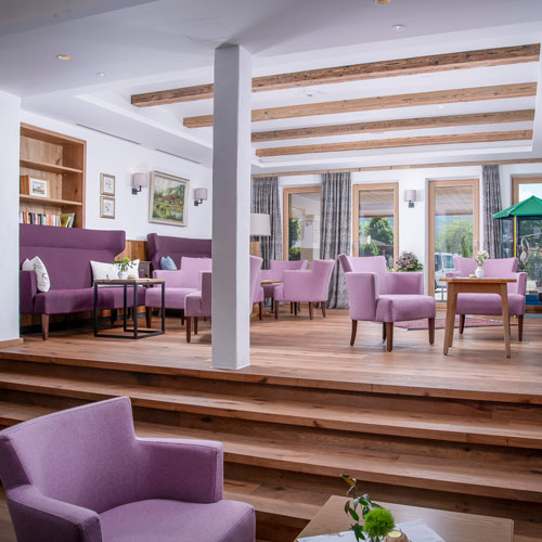 Familienhotel Landgut Furtherwirt, Lobby