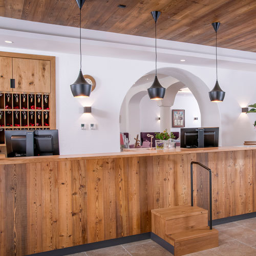 Familienhotel Landgut Furtherwirt, neue Rezeption
