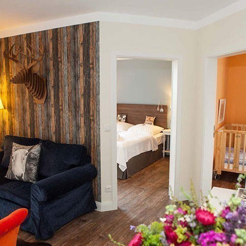 Familienhotel Landhaus Averbeck, drei Raum Appartement