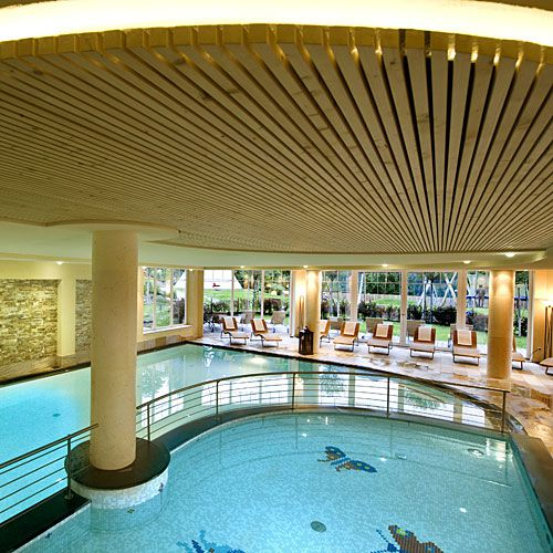 Familotel Sonnwies, Indoor Pool, Familienhotel mit Schwimmbad