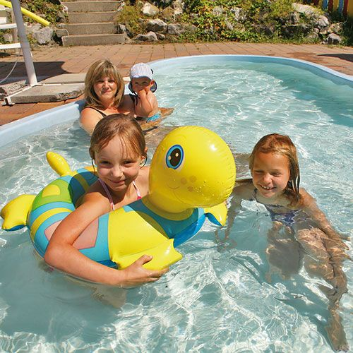 Familotel Spa- & Familien-Resort Krone, Kinder im Pool, Familienhotel mit Pool