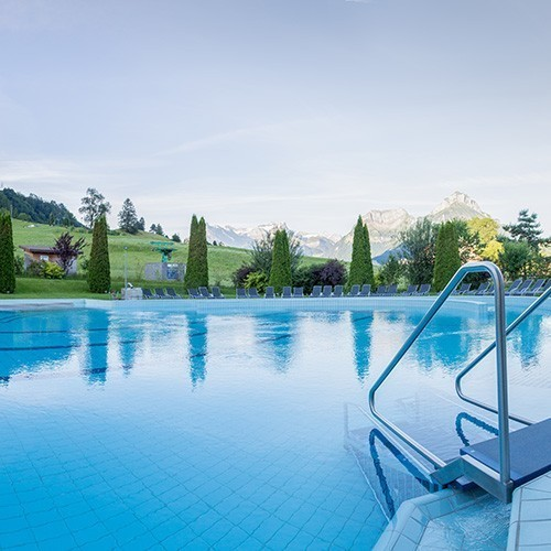 Familienhotel Swiss Holiday Park, Outdoorpool