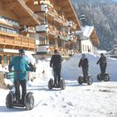 Familotel Landgut Furtherwirt, Escooter Tour, Winterurlaub in Tirol