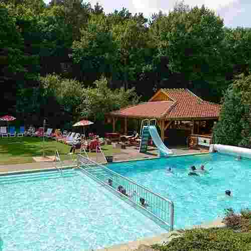 Familienhotel Family Club Harz, Outdoorschwimmbad