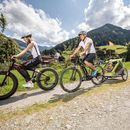 Familienhotel Galtenberg Family Wellness Resort, Mountainbike Tour mit der Familie