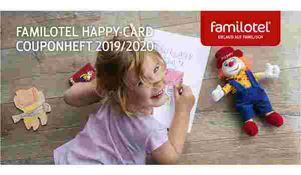 Familotel Happy-Card Couponheft 2019/2020