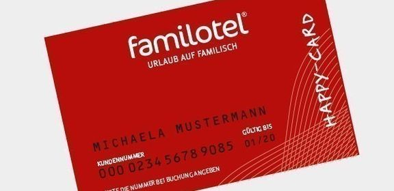 Familotel Happy-Card Kundenkarte