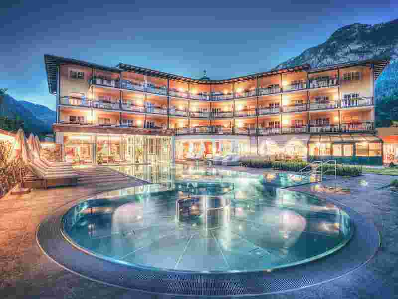 Familotel Post Family Resort, Kinderhotel, Therme Unken